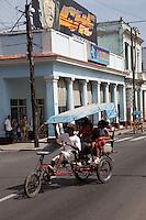 Stunning world heritage architecture of Cienfuegos, Cuba.