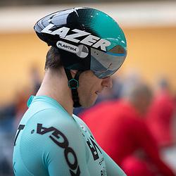 29-12-2019: Wielrennen: NK Baan: Alkmaar <br />Theo Bos pakt de titel op de kilometer