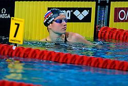 27-11-2010 Swimming, EUROPEAN SHORT COURSE CHAMPIONSHIPS: EINDHOVEN 2010: Tanja Smid SLO 100m Breaststroke   /  Photo Ronald Hoogendoorn / SPORTIDA PHOTO AGENCY