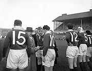 Irish Rugby Football Union, Ireland v England, Five Nations, Landsdowne Road, Dublin, Ireland, Saturday 12th February, 1955,.12.2.1955, 2.12.1955,..Referee- Mr A I Dickie, Scottish Rugby Union,..Score- Ireland 6 - 6 England, ..Irish Team,..W R Tector, Wearing number 15 Irish jersey, Full Back, Wanderers Rugby Football Club, Dublin, Ireland, ..A C Pedlow, Wearing number 14 Irish jersey, Right wing, Queens University Rugby Football Club, Belfast, Northern Ireland,..N J Henderson, Wearing number 13 Irish jersey, Right centre, N.I.F.C, Rugby Football Club, Belfast, Northern Ireland,..A J O'Reilly, Wearing number 12 Irish jersey, Left Centre, Old Belvedere Rugby Football Club, Dublin, Ireland,..J T Gaston, Wearing number 11 Irish jersey, Left wing, Dublin University Rugby Football Club, Dublin, Ireland, ..J W Kyle, Wearing number 10 Irish jersey, Outside Half, N.I.F.C, Rugby Football Club, Belfast, Northern Ireland,..J A O'Meara, Wearing number 9 Irish jersey, Scrum, Dolphin Rugby Football Club, Cork, Ireland, ..F E Anderson, Wearing number 1 Irish jersey, Forward, N.I.F.C, Rugby Football Club, Belfast, Northern Ireland,..R Roe, Wearing number 2 Irish jersey, Forward,  Landsdowne Rugby Football Club, Dublin, Ireland, ..P J O'Donoghue, Wearing  Number 3 Irish jersey, Forward, Bective Rangers Rugby Football Club, Dublin, Ireland,  ..M N Madden, Wearing number 4 Irish jersey, Forward, Sundays Well Rugby Football Club, Cork, Ireland,..T E Reid, Wearing number 5 Irish jersey, Forward, Garryowen Rugby Football Club, Limerick, Ireland, and, London Irish Rugby Football Club, Surrey, England, ..M J Cunningham,  Wearing number 6 Irish jersey, Forward, University college Cork Rugby Football Club, Cork, Ireland,  ..J R Kavanagh, Wearing number 7 Irish jersey, Forward, Wanderers Rugby Football Club, Dublin, Ireland, ..J S McCarthy, Wearing number 8 Irish jersey, Captain of the Irish team, Forward, Dolphin Rugby Football Club, Cork, Ireland, ..English Team, ..N M Hall, Wearing number