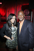 l to r: Sharon Carpenter and Stephen Hill at The Urban Network Magazine and Alistair Entertainment V.I.P Reception honoring Stephen Hill & Charles Warfield & theCelebration of Urban Network's 21st Anniversary held at the Canal Room on May 13, 2009 in New York City .