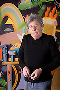 """Colin Lanceley (1938–2015) Australian artist<br /> He began as """"a young artist in the Sydney art collective known as the Annandale Imitation Realists,"""" and made his way to London, where he showed with the Marlborough Gallery. Inducted into the Order of Australia in 1990—and the recipient of an Australia Council Creative Arts Fellowship in 1991—Lanceley's work is in the collections the Tate, the Victoria and Albert Museum, the Museum of Modern Art in New York, and the Solomon R. Guggenheim Museum."""