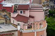 Bucharest, Romania architecture, street scene and cityscape