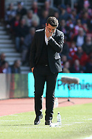 Football - 2016 / 2017 Premier League - Southampton vs. Hull City<br /> <br /> A pensive Hull City Manager Marco Silva at St Mary's Stadium Southampton<br /> <br /> COLORSPORT/SHAUN BOGGUST
