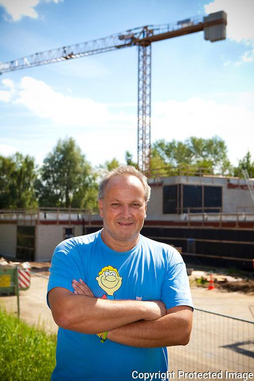 361918-Peter Janssens, coordinator Speelpleinwerking Speelmicroob Lier bij nieuwbouw-Sluisstraat Lier