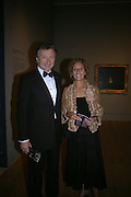 Lord and Lady Hollick, Dinner at the opneing of Degas, Sickert and Toulouse-Lautrec. Tate Britain. Pimlico, London.  London. 3 October 2005. . ONE TIME USE ONLY - DO NOT ARCHIVE © Copyright Photograph by Dafydd Jones 66 Stockwell Park Rd. London SW9 0DA Tel 020 7733 0108 www.dafjones.com