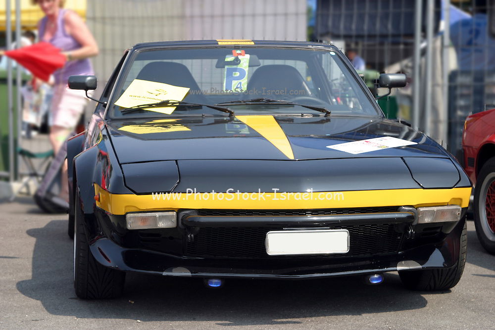 Fiat sport car front view