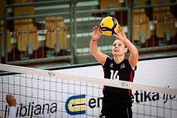 EHRHART Ursula of Austrian national team during volleyball match between Bosnia & Herzegovina and Austria in CEV Volleyball European Silver League 2021, on 12 of June, 2021 in Dvorana Ljudski Vrt, Maribor, Slovenia. Photo by Blaž Weindorfer / Sportida