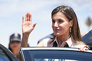 062718 Queen Letizia attends the celebration of the 'International Deafblind Day'