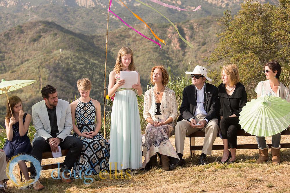 Outdoor Coming of Age Ceremony, Santa Barbara CA
