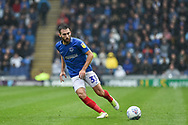 Portsmouth Midfielder, Ben Close (33) during the EFL Sky Bet League 1 match between Portsmouth and Wycombe Wanderers at Fratton Park, Portsmouth, England on 22 September 2018.