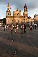 Primada Catedral in the Plaza Bolivar, the main square of Bogota