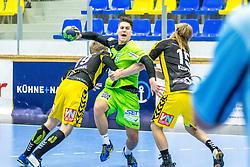 10.12.2017, BSFZ Suedstadt, Maria Enzersdorf, AUT, HLA, SG INSIGNIS Handball WESTWIEN vs Bregenz Handball, Hauptrunde, 16. Runde, im Bild Mladan Jovanovic (SG INSIGNIS Handball WESTWIEN) // during Handball League Austria 16 th round match between SG INSIGNIS Handball WESTWIEN and Bregenz Handball at the BSFZ Suedstadt, Maria Enzersdorf, Austria on 2017/12/10, EXPA Pictures © 2017, PhotoCredit: EXPA/ Sebastian Pucher