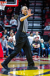 NORMAL, IL - February 15:  Jeff Malham during a college basketball game between the ISU Redbirds and the Valparaiso Crusaders on February 15 2020 at Redbird Arena in Normal, IL. (Photo by Alan Look)