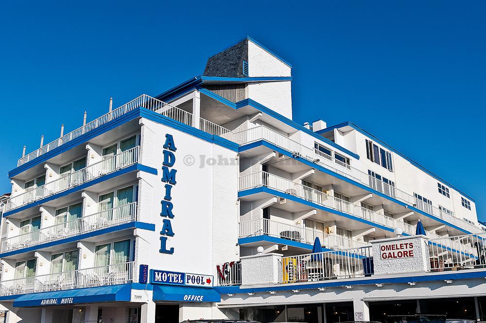 The Admiral Motel, Wildwood, NJ, New Jersey, USA