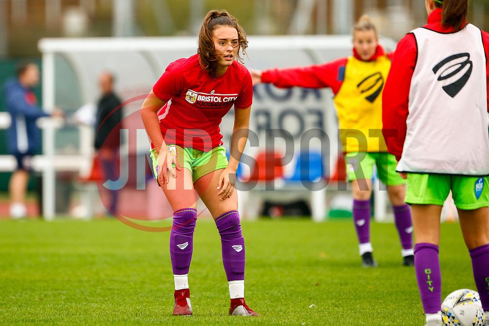 Ella Rutherford of Bristol City - Mandatory by-line: Ryan Hiscott/JMP - 14/10/2018 - FOOTBALL - Stoke Gifford Stadium - Bristol, England - Bristol City Women v Birmingham City Women - FA Women's Super League 1