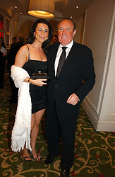 ANDREW NEIL and CAROLINE RICHENBERG at the Costa Book Awards 2006 held at The Grosvenor House Hotel, Park Lane, London W1 on 7th February 2007.<br /><br />NON EXCLUSIVE - WORLD RIGHTS
