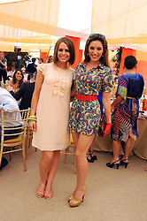 Left to right, SUSIE AMY and KELLY BROOK at the Cartier International Polo at Guards Polo Club, Windsor Great Park on 27th July 2008.<br /> <br /> NON EXCLUSIVE - WORLD RIGHTS