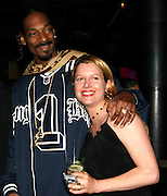 Snoop Dogg & Heidi Jo Markel of Eclectic Pictures, Producer..The Tenants Post Screening Party.Aer Premiere Lounge.New York, NY, USA.Monday, April, 25, 2005.Photo By Selma Fonseca/Celebrityvibe.com/Photovibe.com, .New York, USA, Phone 212 410 5354, .email: sales@celebrityvibe.com ; website: www.celebrityvibe.com...