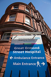 © Licensed to London News Pictures. 17/07/2017. London, UK. Great Ormond Street hospital where ill toddler Charlie Gard is being treated. The parents of terminally ill Charlie Gard returned to the High Court last week in light of new evidence relating to potential treatment for their son's condition. An earlier lengthy legal battle ruled that Charlie could not be taken to the US for experimental treatment. London, UK. Photo credit: London News Pictures