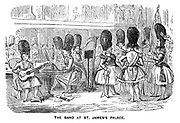 The Ladies of the Creation; Or, how I was cured of being a strong-minded woman. The Band at St James's Palace.