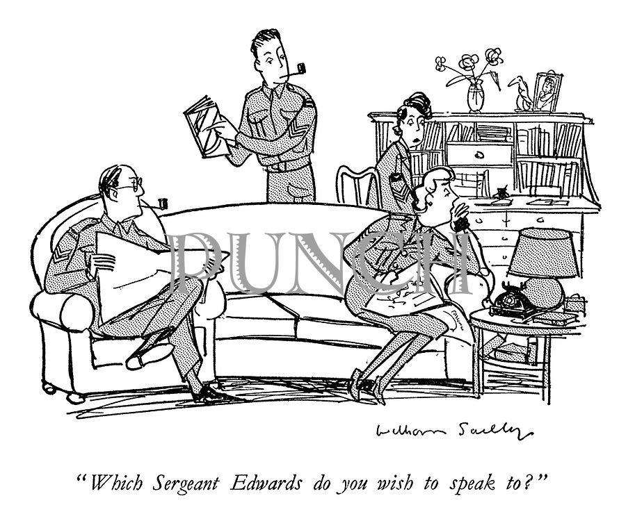 """Which Sergeant Edwards do you wish to speak to?"""