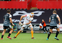 JP du Preez of Cheetahs<br /> <br /> Photographer Simon King/Replay Images<br /> <br /> Guinness PRO14 Round 2 - Ospreys v Cheetahs - Saturday 8th September 2018 - Liberty Stadium - Swansea<br /> <br /> World Copyright © Replay Images . All rights reserved. info@replayimages.co.uk - http://replayimages.co.uk