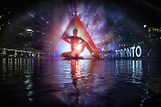 The 33ft art installation Pneuma or Breath of Life by Floria Sigismondi at Nathan Phillips Square. Nuit Blanche 2016<br /> ...<br /> Toronto, Canada<br /> October 2016