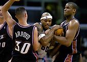 NBA-Utah Jazz at LA Clippers-Jan 23, 2004