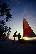 Couple with Sailboat<br />