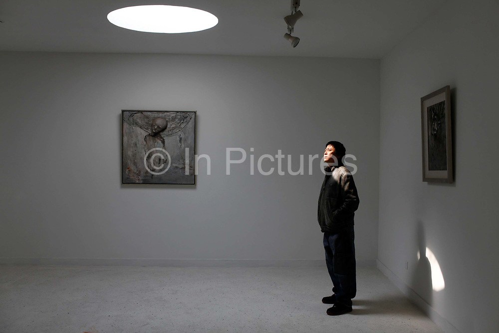 Peter Huang, owner of the Nanjing Drug Art Museum, in Nanjing, China on 04 March, 2011.  Contemporary art in China has become a global business as two of the top ten grossing living artists in the world are Chinese.