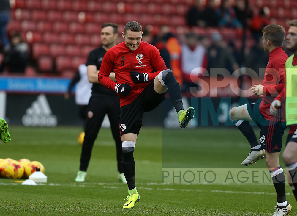Caolan Lavery of Sheffield Utd during the English League One match at Bramall Lane Stadium, Sheffield. Picture date: December 31st, 2016. Pic Simon Bellis/Sportimage