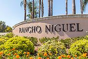 Rancho Niguel Neighborhood Monument