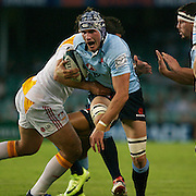 Ben Mowen in action during the Super14 match between the Waratahs and the Chiefs at the Sydney Football Stadium in Sydney, Australia on February 20, 2009. The Waratahs won the match 11-7. Photo Tim Clayton