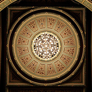 Latvian National Opera - ceiling, Riga, Latvia (July 2005)