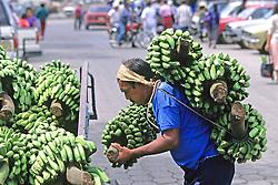 Man Loading Bananas