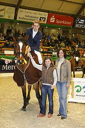 , Neumünster VR Classics 14 - 17. 02.2008, Siegerehrung Prfg. 23 -  Fa. Reitsport Sievers