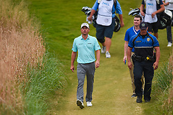 March 25, 2018 - Austin, TX, U.S. - AUSTIN, TX - MARCH 25: Kevins Kisner walks up the past after teeing off on the 16th hole during the semifinals match of the WGC-Dell Technologies Match Play on March 25, 2018 at Austin Country Club in Austin, TX. (Photo by Daniel Dunn/Icon Sportswire) (Credit Image: © Daniel Dunn/Icon SMI via ZUMA Press)