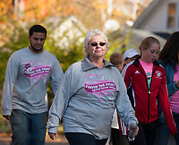 Annual Making Strides Against Breast Cancer walk from Opechee Park in Laconia from 2013.  Karen Bobotas/for the Laconia Daily Sun