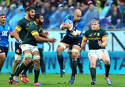 November 19, 2016 - Rome, Italy - Sergio Parisse (I)  during the international match between Italy v South Africa at Stadio Olimpico on November 19, 2016 in Rome, Italy. (Credit Image: © Matteo Ciambelli/NurPhoto via ZUMA Press)