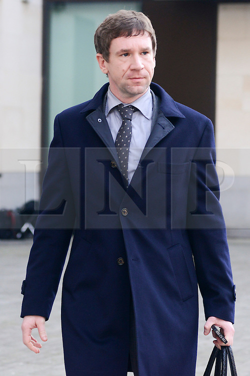 © Licensed to London News Pictures.20/01/2014. London, UK Russian banker Vladimir Antonov, former owner of Portsmouth Football Club leaves the Westminster Magistrates' Court.  Vladimir Antonov and his Lithuanian business partner Raimondas Baranauskas, former co-owner of Lithuania's bankrupt commercial bank Snoras will be extradited to Lithuania where they are accused of asset stripping at Snoras Bank. Photo credit : Peter Kollanyi/LNP