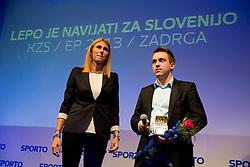 at sports marketing and sponsorship conference Sporto 2013, on November 21, 2012 in Hotel Slovenija, Congress centre, Portoroz / Portorose, Slovenia. Photo by Vid Ponikvar / Sportida