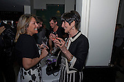 LOUISA VALOUNA; JUNE BROWN, Duet for One first night party. Axiis, One Aldwych, London. 12 May 2009