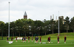 A general view of the City Football Academy as the Manchester City first team train - Mandatory by-line: Matt McNulty/JMP - 12/09/2016 - FOOTBALL - Manchester City - Training session ahead of Champions League Group C match against Borussia Monchengladbach