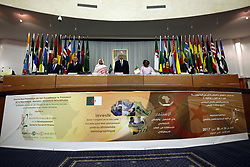 April 26, 2017 - Algiers, Algeria - Prime Minister Abdelmalek Sellal opens the second session of the Commission for Social Development, Labor and the Functioning of the African Union, at the Palais des Nations on Algiers, Algeria on 26 April 2017  (Credit Image: © Billal Bensalem/NurPhoto via ZUMA Press)