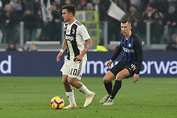 December 7, 2018 - Milan, Piedmont, Italy - Paulo Dybala (Juventus FC)  during the Serie A football match between Juventus FC and FC Internazionale at Allianz Stadium on December 07, 2018 in Turin, Italy..Juventus won 1-0 over Internazionale. (Credit Image: © Massimiliano Ferraro/NurPhoto via ZUMA Press)