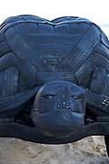 The world's largest free-to-the-public outdoor sculpture exhibition, Sculpture by the Sea, Bondi. .Mark Swartz, Reuben Solomon & Charmaine Tung - Tortoise