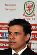 Chris Coleman is unveiled as the new Wales football manager at a press conference in Cardiff on Thursday 19th Jan 2012. pic by Andrew Orchard