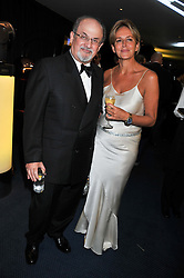 SIR SALMAN RUSHDIE and CAROLINE MICHEL at the GQ Men of The Year Awards 2012 held at The Royal Opera House, London on 4th September 2012.