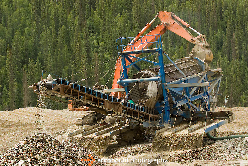 Gold operation in Dawson region of the Yukon, Canada.<br /> <br /> NOT IN YOUR BUDGET? Contact Cathie for a price specific to your project.